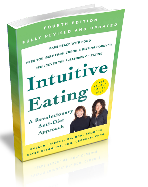 Intuitive Eating 4th Edition - Book Image - Available at Amazon.com